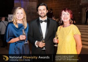 Fortune Law team at the National Diversity Awards 2917