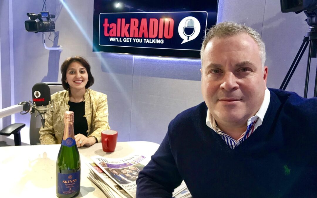 Fortune Law's Shainul Kassam was discussing the newspaper headlines and the business news with broadcaster James Max on the Early Breakfast show on talkRADIO