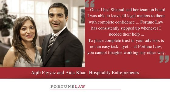 Aqib Fayyaz and Aida Khan Testimonial