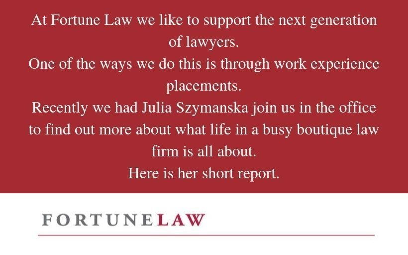 Fortune Law supporting the next generation of lawyers