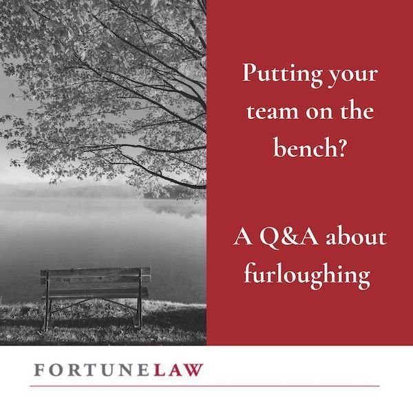 Fortune Law specialist lawyers graphic for furloughing article