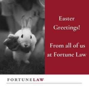 Easter virtual greetings card celebrating Easter