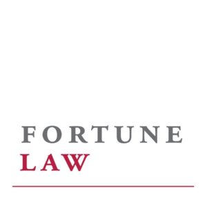 Fortune Law specialist commercial lawyers company logo square type