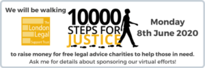 explaining the 10000 steps for justice